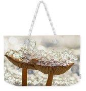 Winter Mushrooms Weekender Tote Bag