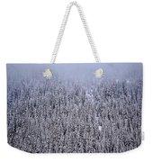 Winter Mystery Weekender Tote Bag