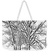 Winter Oaks IIi Weekender Tote Bag