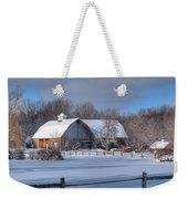 Winter On The Farm 14586 Weekender Tote Bag