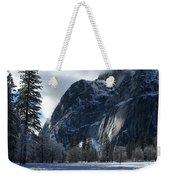 Winter On The Valley Floor Weekender Tote Bag