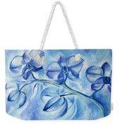 Winter Orchids Weekender Tote Bag