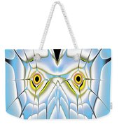 Winter Owl Weekender Tote Bag