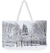 Winter Park Landscape Weekender Tote Bag