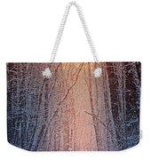 Winter Pathway Weekender Tote Bag