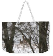 Winter Family Pause  Weekender Tote Bag