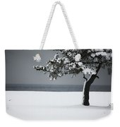 Winter Quiet Weekender Tote Bag