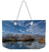 Winter Reflections Weekender Tote Bag by Adrian Evans