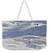 Winter Ride Weekender Tote Bag