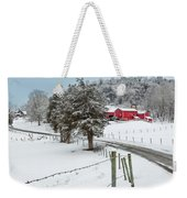 Winter Road Weekender Tote Bag by Bill Wakeley