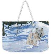 Winter Romp Weekender Tote Bag by Molly Poole