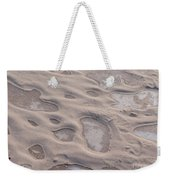 Winter Sand Art Weekender Tote Bag