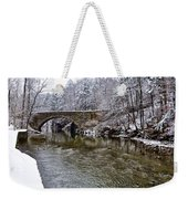 Winter Scene At Valley Green Weekender Tote Bag