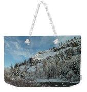 Winter Scene Weekender Tote Bag by Jeff Swan