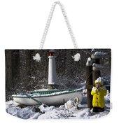 Winter Scene Michigan #1 Weekender Tote Bag