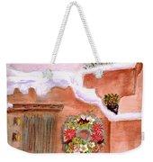 Winter Season Adobe Weekender Tote Bag