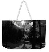 Winter Shadow Weekender Tote Bag