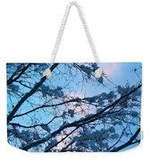 Winter Sky And Snowy Japanese Maple Weekender Tote Bag