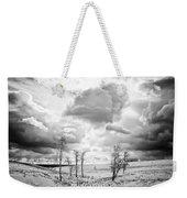 Winter Sky Drama Weekender Tote Bag
