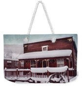 Winter Sleep Weekender Tote Bag