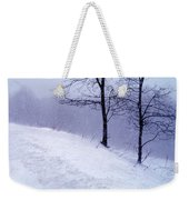Winter Slope Weekender Tote Bag