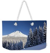 Winter Snow Over The Cascade Range Weekender Tote Bag