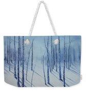 Winter Splendor Weekender Tote Bag