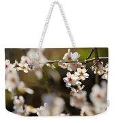 Winter Spring Almond Flowers Weekender Tote Bag
