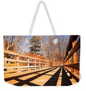 Winter Spring Crossover Weekender Tote Bag