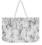 Winter Starkness Weekender Tote Bag