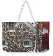 Winter Stone Pattern Weekender Tote Bag