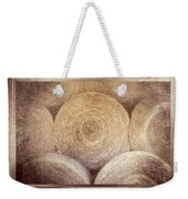 Winter Storehouse Weekender Tote Bag by Carolyn Marshall