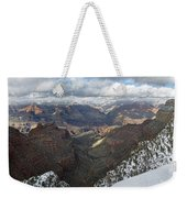 Winter Storm At The Grand Canyon Weekender Tote Bag