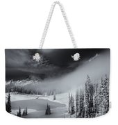 Winter Storm Clears Weekender Tote Bag