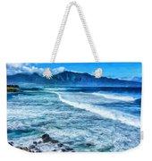 Winter Storm Surf At Ho'okipa Maui Weekender Tote Bag
