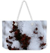 Winter Sumac Weekender Tote Bag