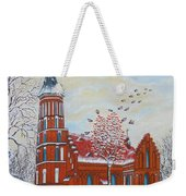Winter Sunday Weekender Tote Bag