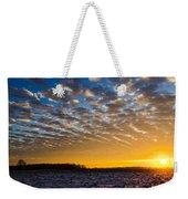 Winter Sunset 1 Weekender Tote Bag