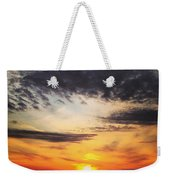 Winter Sunset 2 Weekender Tote Bag