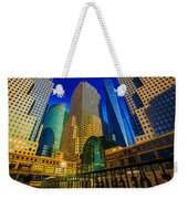 Winter Sunshine In Battery Park City Weekender Tote Bag