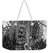 Winter Swing Weekender Tote Bag