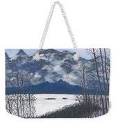 Winter Tetons Weekender Tote Bag