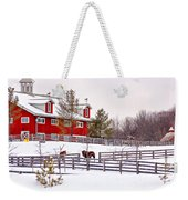 Winter Thoroughbreds Weekender Tote Bag