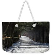 Winter Trail Weekender Tote Bag