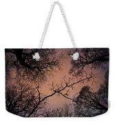 Winter Tree Canopy Weekender Tote Bag