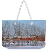 Winter Tree Line Weekender Tote Bag
