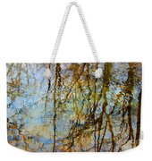 Winter Tree Reflections Weekender Tote Bag