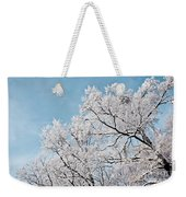 Winter Tree Scene Weekender Tote Bag