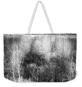 Winter Trees B And W 5 Weekender Tote Bag