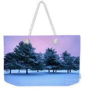Winter Trees Weekender Tote Bag by Brian Jannsen